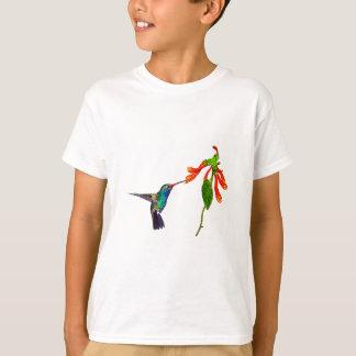 T-shirt Série de l'art des Oiseau-amants sauvages de