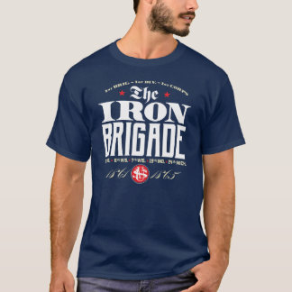 T-shirt Série d'HISTOIRE - le logo de brigade de fer pour