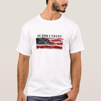 T-shirt Serment de fidélité. Confiance dans Dieu