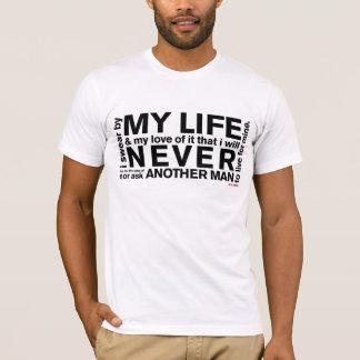 T-shirt Serment de John Galt (lumière)