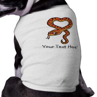 T-shirt Serpent de bande dessinée