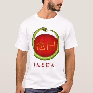 T-shirt Serpent de monogramme d'Ikeda