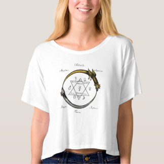 T-shirt Serpent et dragon Ouroboros