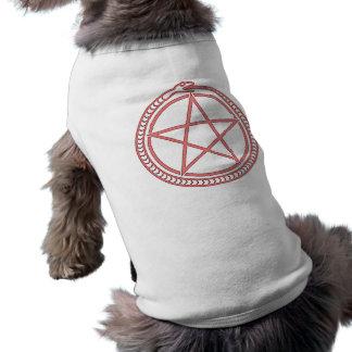 T-shirt Serpent et pentagone étoilé