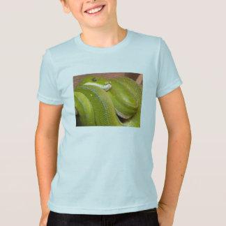 T-shirt serpent vert
