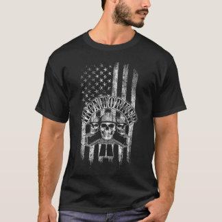T-shirt Serrurier de drapeau américain