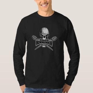 T-shirt Serrurier des syndicats : Le crâne et sarcle