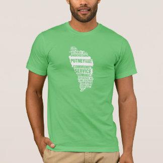 T-shirt Service à la communauté Dominique dans des