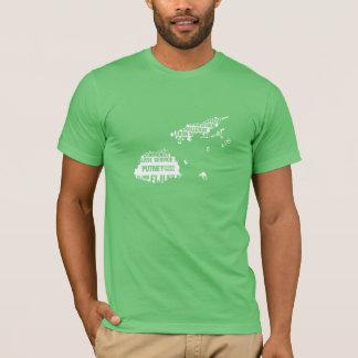 T-shirt Service à la communauté Fidji dans des couleurs