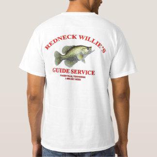 T-shirt Service du guide de Willie de plouc