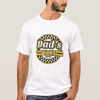 T-shirt Service du taxi du papa