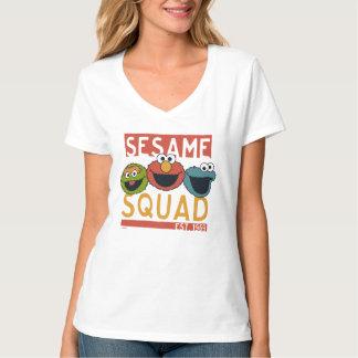 T-shirt Sesame Street - peloton de sésame