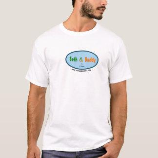 T-shirt Seth et chemise de logo d'ami