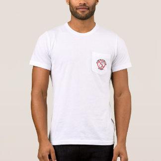 T-shirt Seulement-Écrou-Permis de poche