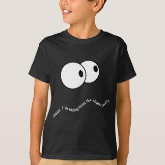 T-shirt SH ! Je me cache des personnes stupides