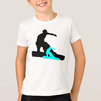 T-shirt shadowboarder : sarcelle d'hiver :