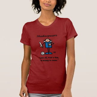 T-shirt Shakespeare