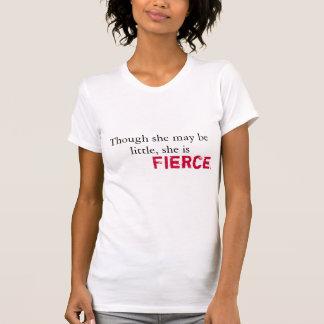 T-shirt shakespeare - elle est féroce et forte