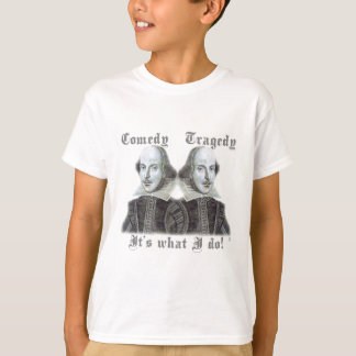 T-shirt Shakespeare - est il ce que je fais !