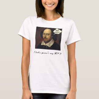 T-shirt Shakespeare SMS