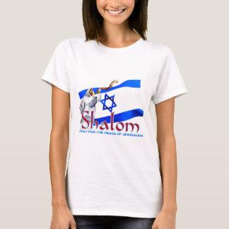 T-shirt SHALOM prient pour la paix de Jérusalem