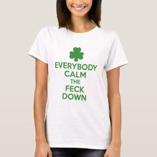 T-shirt Shamrock irlandais