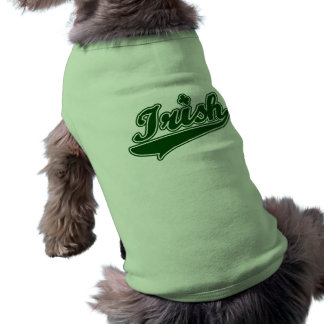 T-shirt Shamrock irlandais vert
