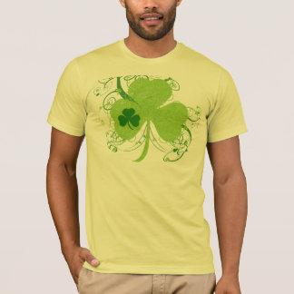 T-shirt Shamrock vintage de Jour de la Saint Patrick