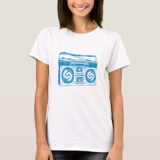 T-shirt Shazam Boombox