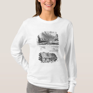 T-shirt Sheelins dans Jura et une vue éloignée de