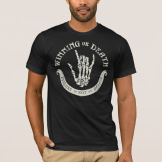 T-shirt Sheen gagnant ou meurent chemise