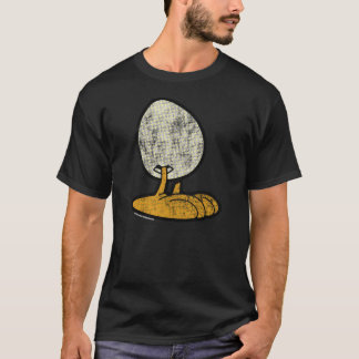 T-shirt Sheldon la chemise des hommes d'oeufs