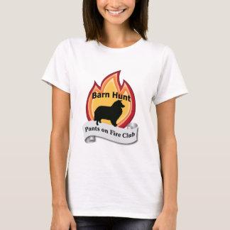 T-shirt Sheltie - pantalon sur le feu
