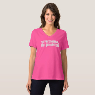 T-shirt #shepersisted