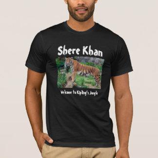 T-shirt Shere Khan : Accueil à la jungle de Kipling