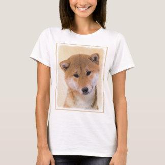 T-shirt Shiba Inu (rouge)