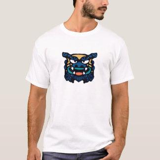 T-shirt Shisa bleu