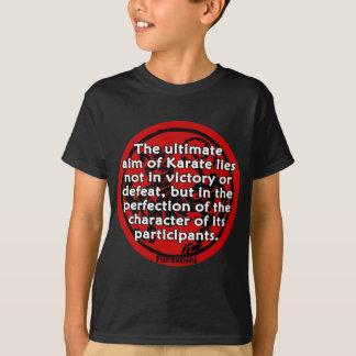 T-shirt Shotokan - le but final