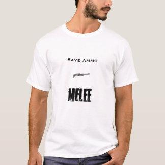 T-shirt shotty, munitions d'économies, mêlée