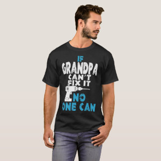 T-shirt Si la difficulté de pente de grand-papa il