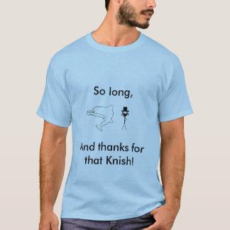 T-shirt Si le randonneur d'accroc de Douglas Adams était