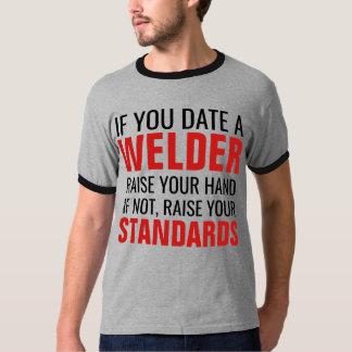 T-shirt Si vous aimez un augmenter de soudeuse votre main