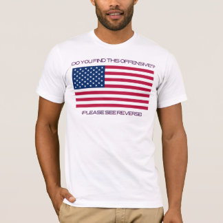 T-shirt Si vous ne l'aimez pas, partez !