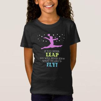 T-Shirt Si vous ne sautez jamais - citation inspirée de