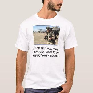 T-shirt Si vous pouvez lire ceci, remerciez un professeur