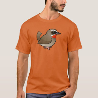 T-shirt Sibérien Rubythroat de Birdorable