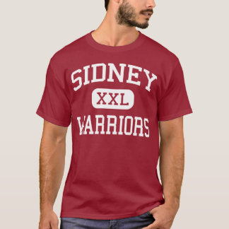 T-shirt Sidney - guerriers - milieu - Sidney New York