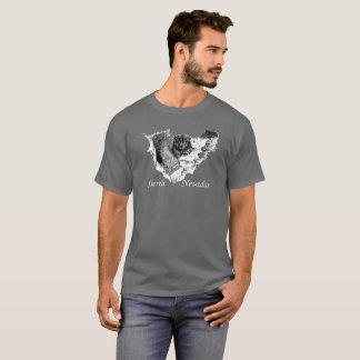 T-shirt Sierra Nevadas. Ours à la cascade