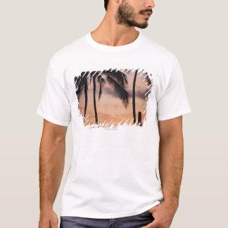 T-shirt Signal et palmier