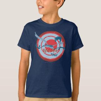 T-shirt Signal sonore Yikes de signal sonore de la ROUTE